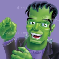 Oreo Halloween Frankenstein