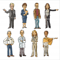 Discovery Campus Doctor Avatars