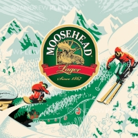 Moosehead Beer Winter Can